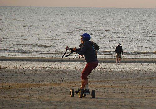 Kitelandboarden