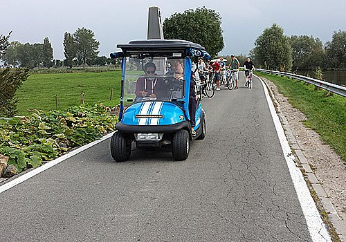 Electric Golfcar Tour