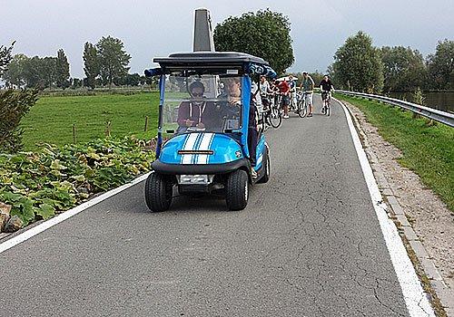 Electric Golfcar Tour