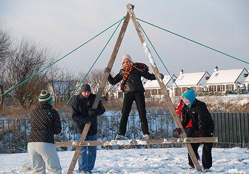 Teambuilding en hiver